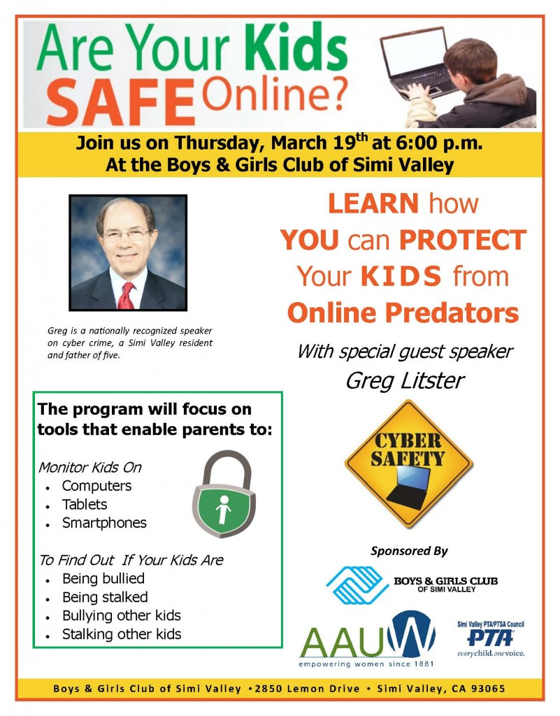 Are Your Kids Safe Online - Seminar